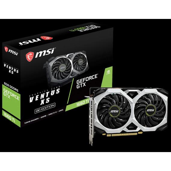【公司貨】GeForce GTX 1660 Ti VENTUS XS 6G OC