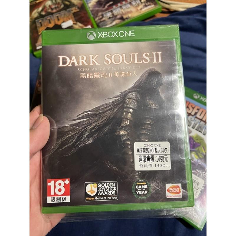 XBOX ONE 黑暗靈魂 2:原罪哲人中文版 Xbox series x