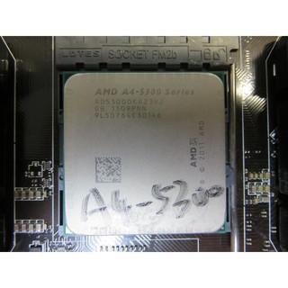 C.AMD CPU-A4-5300 Series A4 3.4GHz AD5300OKA23HJ FM2 直購價240 臺南市