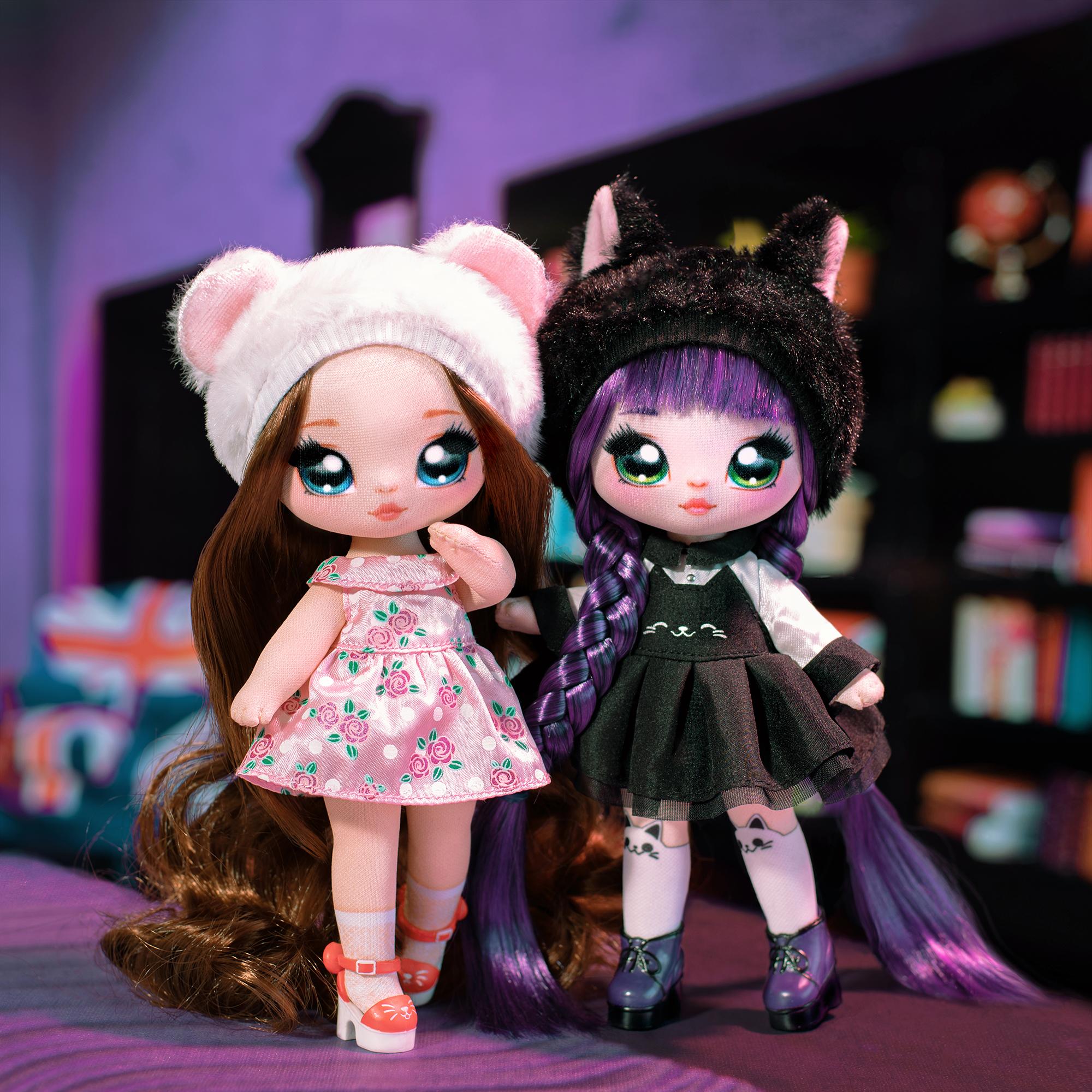 正版MGA娜娜娜nanana surprise驚喜布偶少女波姆娃娃盲盒女孩玩具