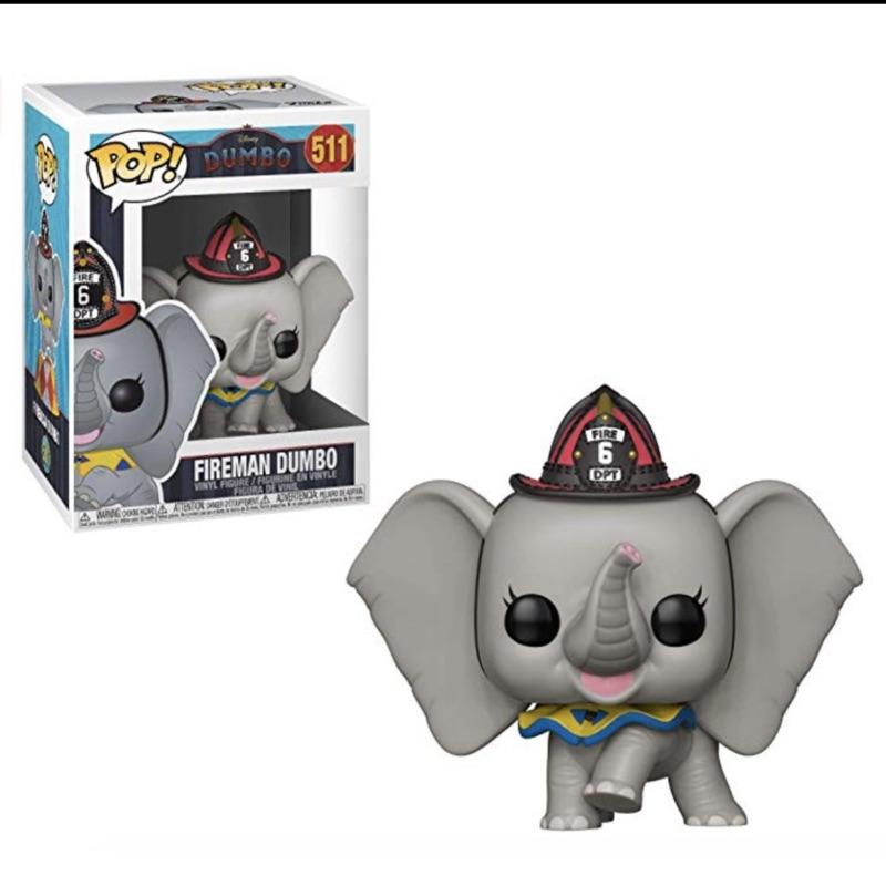 現貨 正版 FUNKO POP DISNEY Dumbo MOVIE Fireman 迪士尼 小飛象 消防員裝
