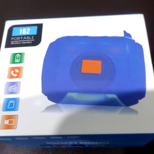 藍芽喇叭音箱 重低音(灰色)支持藍芽 USB FM TF插卡 全新