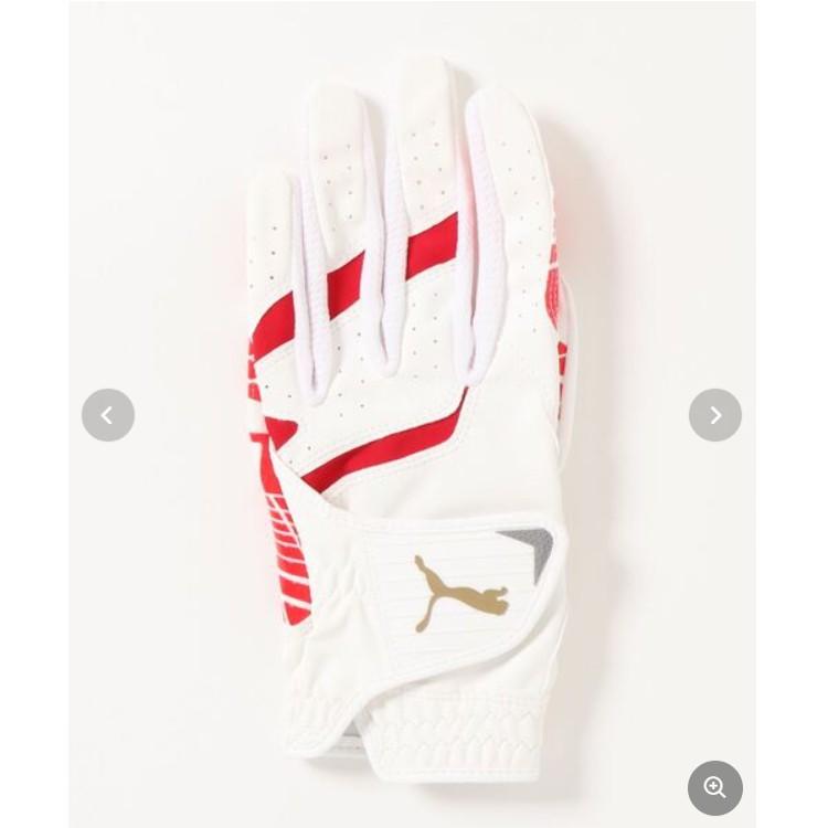 【PUMA:日本直郵】高爾夫左手單手手套 女 合成革 運動手套 耐用舒適