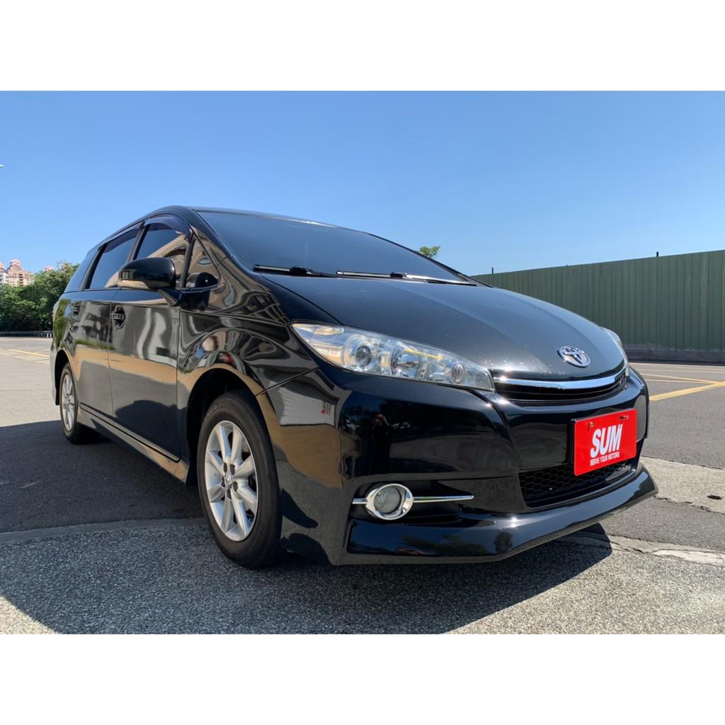 豐田 Toyota - Wish E-Hi 黑色 一手車 原鈑件 實車實價 拒絕泡水車事故車 非自售