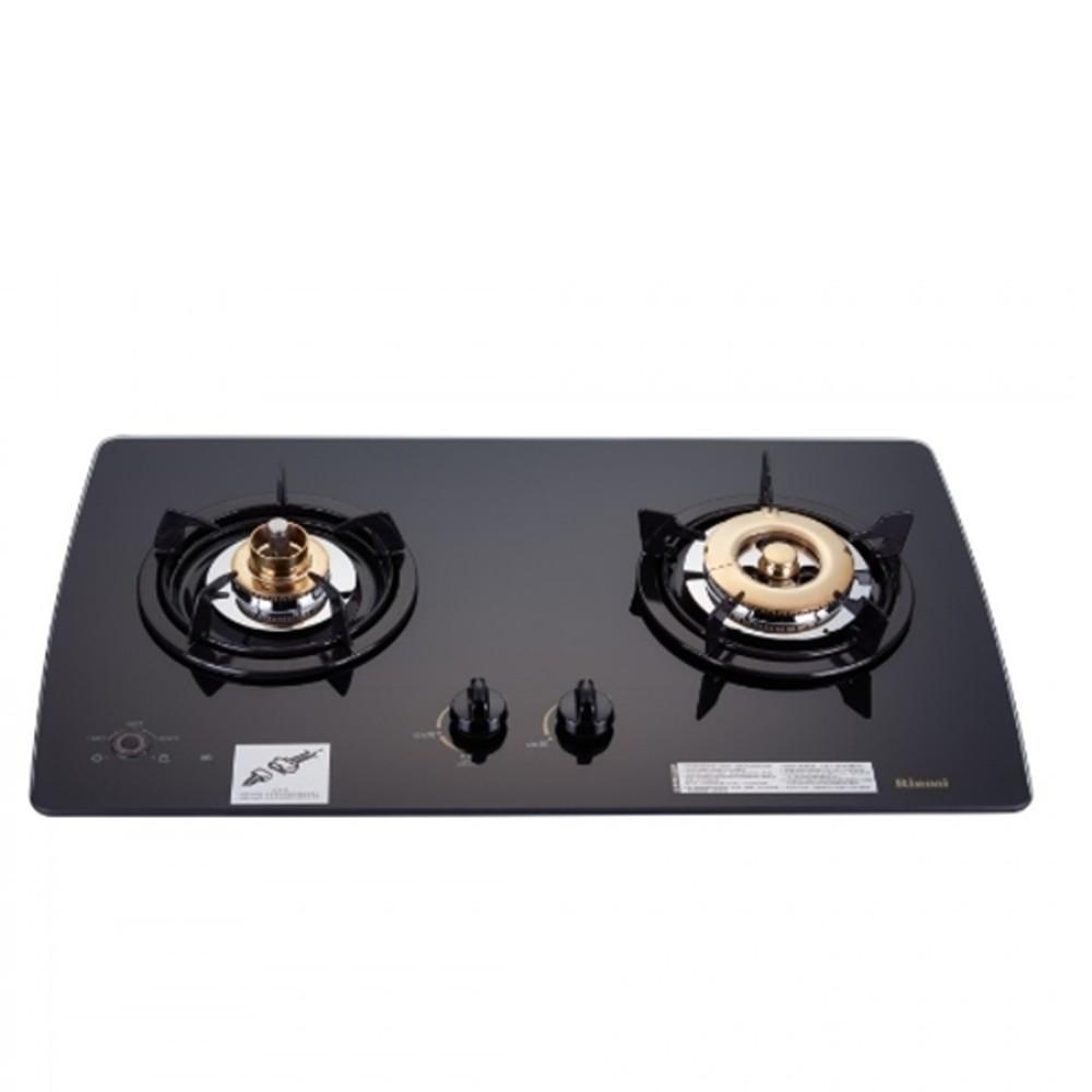 林內【RB-2GMB_LPG】美食家雙面檯面爐黑色與白色(與RB-2GMB同款)瓦斯爐桶裝 分12期0利率