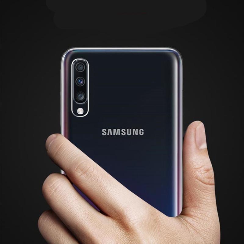 SAMSUNG 三星 Galaxy A50 A30 S10 E Lite Case 矽膠透明軟 Tpu 後蓋外殼