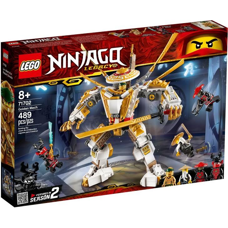 LEGO 樂高 71702 全新品未拆 Ninjago 旋風忍者系列 Golden Mech 黃金機械人 2020