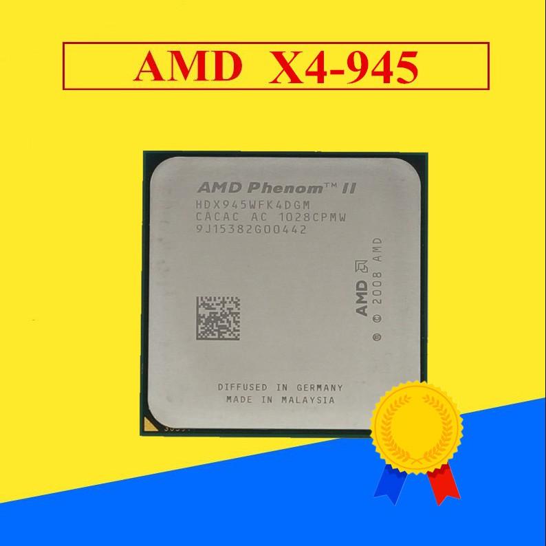 Amd Phenom Ii Cpu X4 965 960t X4 925 945 X4 955 125w X4 965