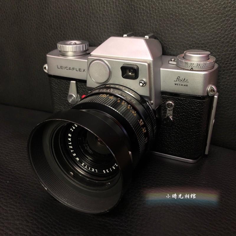 Leica 元祖單眼 Leicaflex 美機 + Leica 最強街拍鏡35mm f2.8