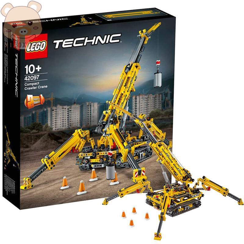 小熊- 樂高 LEGO機械組系列精巧型履帶起重機42097科技 積木 10歲+ 玩具 收藏