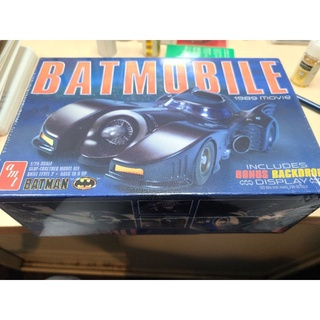 AMT 1/ 25 1989 Batmobile蝙蝠俠電影 蝙蝠車 組裝模型 臺北市