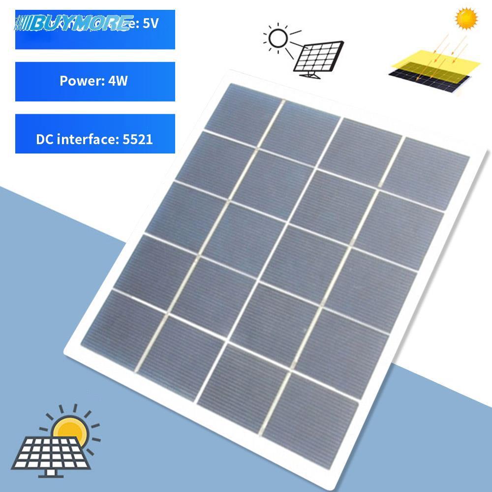4W太陽能電池板Mono太陽能電池板電源5V太陽能電池板多功能Sunpower Travel Camping