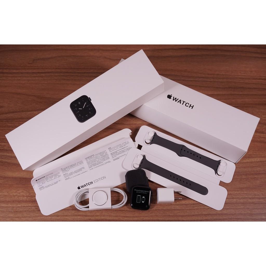 APPLE Watch S5 Titanium 44mm GPS+LTE A2157 鈦 高質感 更勝不鏽鋼 保固內