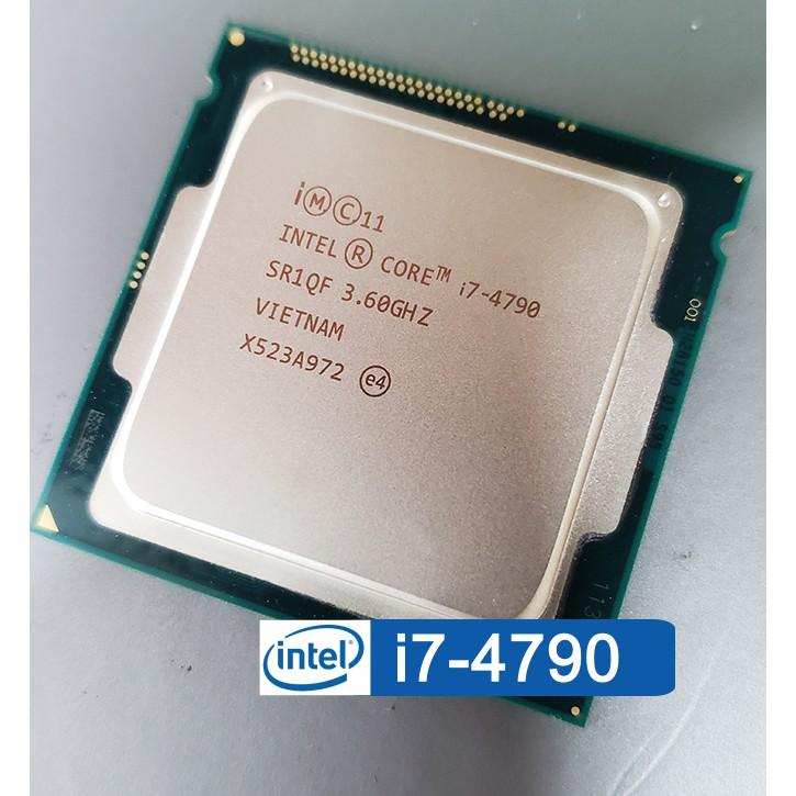 Intel Core i7-4790 1150腳位 四核心CPU 3.6G