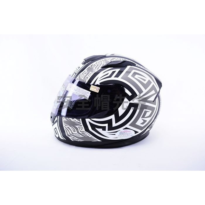【安全帽先生】M2R F2C F-2C #9 阿茲特克 消光黑銀 全罩 安全帽 送:帽袋+原廠七彩片或防摔手套