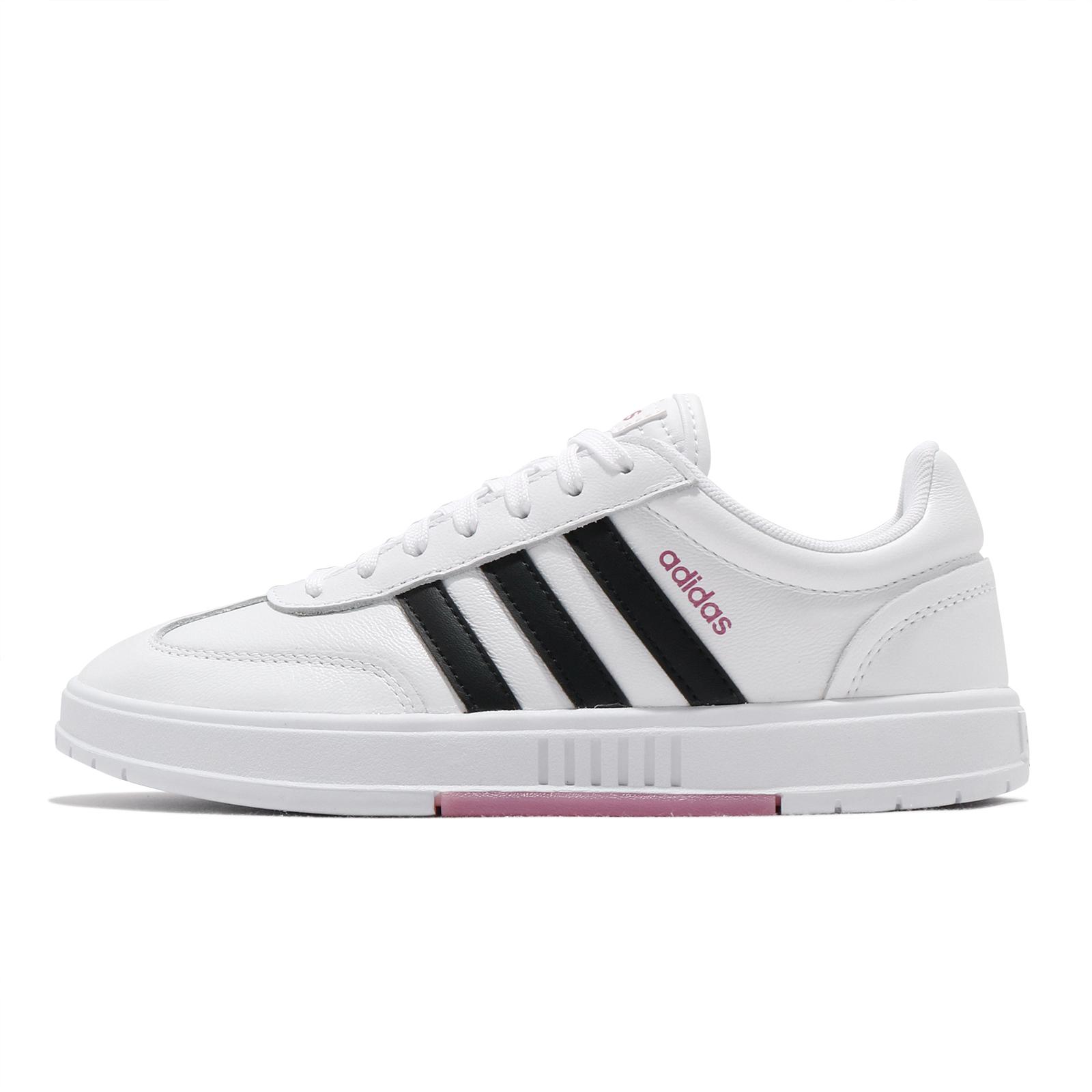 adidas 休閒鞋 Gradas 白 黑 粉紅 女鞋 愛迪達 Neo 小白鞋 百搭款 【ACS】 FW9366