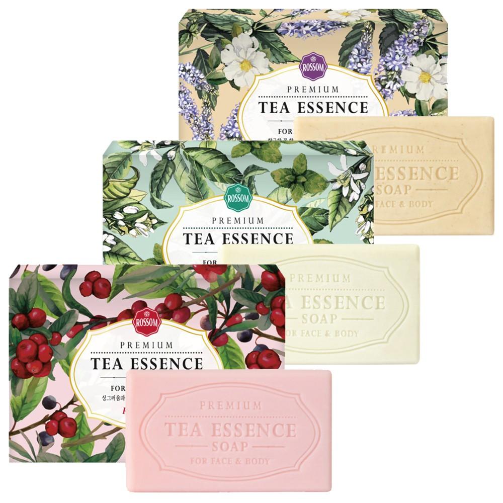韓國 ROSSOM 馥郁茶氛皂(135g) 3款可選擇 野莓山茶花舒緩皂/伯爵薰衣草保濕皂/薄荷留蘭香潤膚皂
