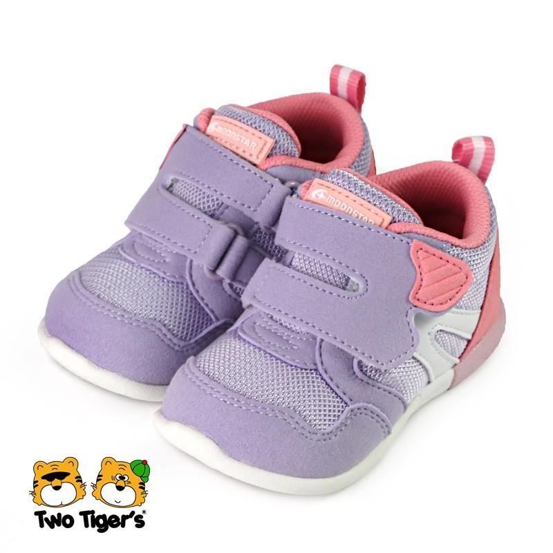 日本月星 MoonStar CR HI系列 3E 機能童鞋 小童鞋 紫色 NO.R6045