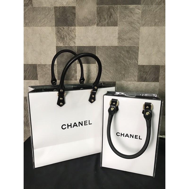 紙袋改造包/香奈兒chanel紙袋改造包/香奈兒紙袋/chanel紙袋