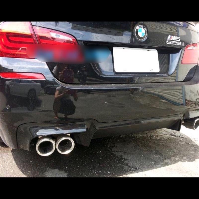 BMW F10/F11 M-TECH/M-SPORT/M5 4出後下巴 現貨 全新品