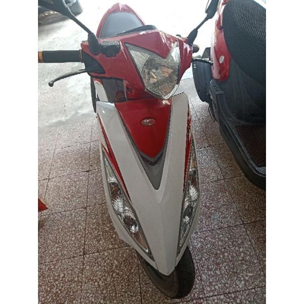 2011年光陽 VJR 110紅白 特士版/二手車  車主自售