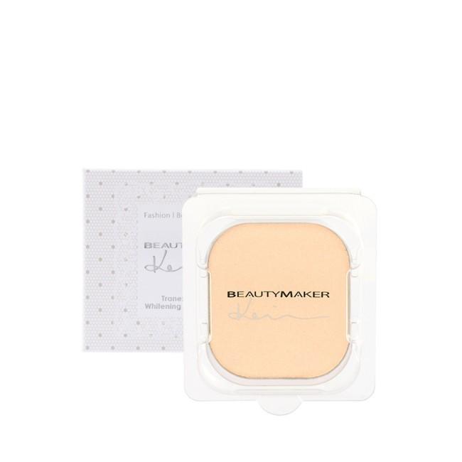 BEAUTYMAKER 傳明酸美白防曬柔膚粉餅SPF50+**白皙替換芯-9g