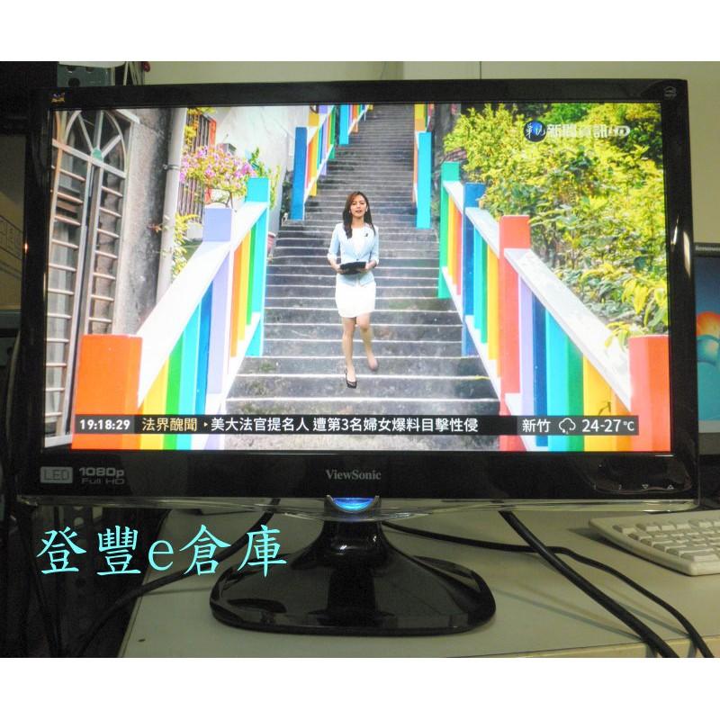 【登豐e倉庫】 彩虹世界 ViewSonic 優派 VX2250WM-LED 22吋 LED 螢幕