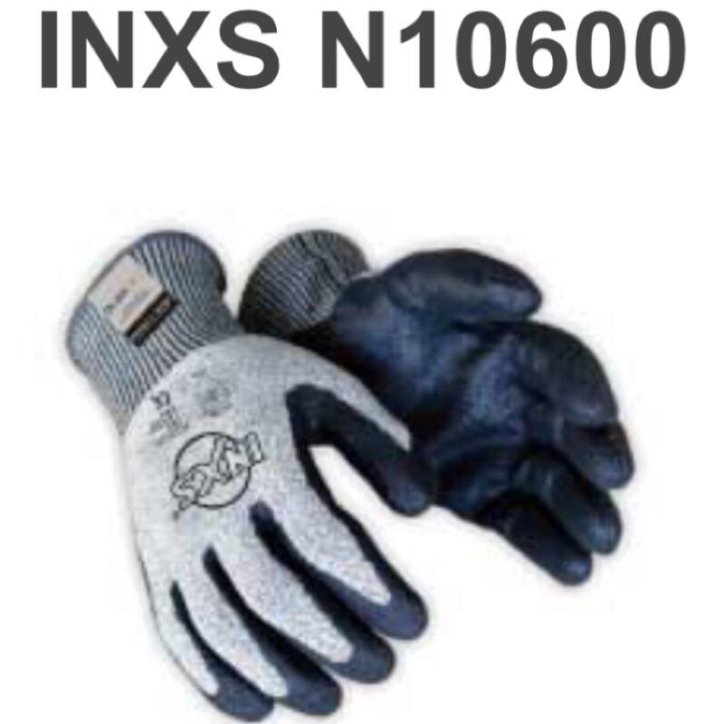 INXS N10600防割耐磨安全手套XL號防割係數5 強度同質量鋼材的15倍 抗化學物及油類物質 工作手套.舒適耐用.