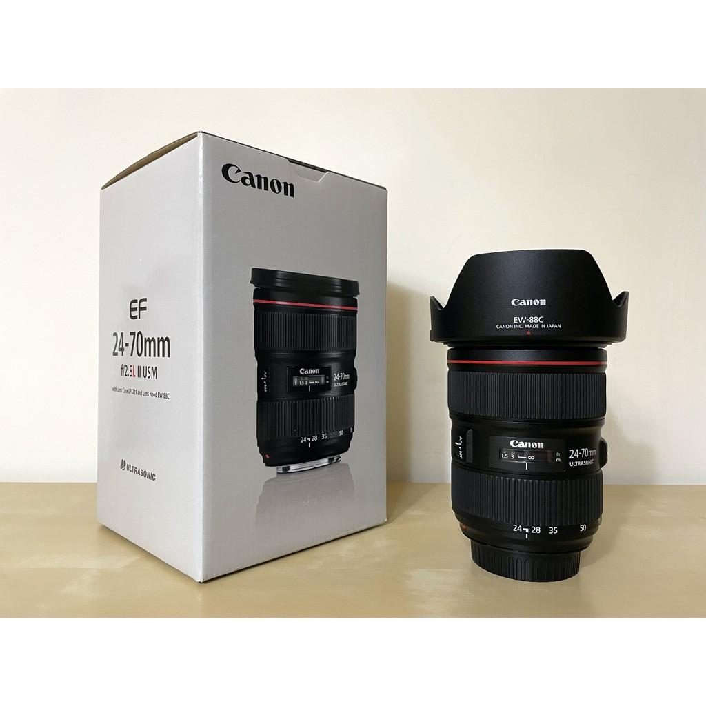 【出售二手】Canon EF 24-70mm f/2.8L II USM 二代 平行輸入 95成新