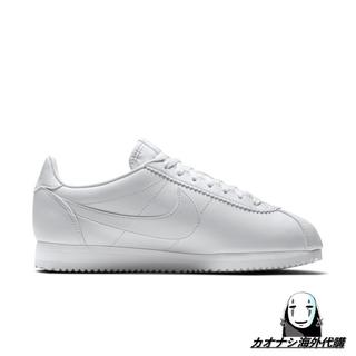『限時免運』 Nike w classic Cortez leather lux 阿甘小白鞋(807471-102) 桃園市