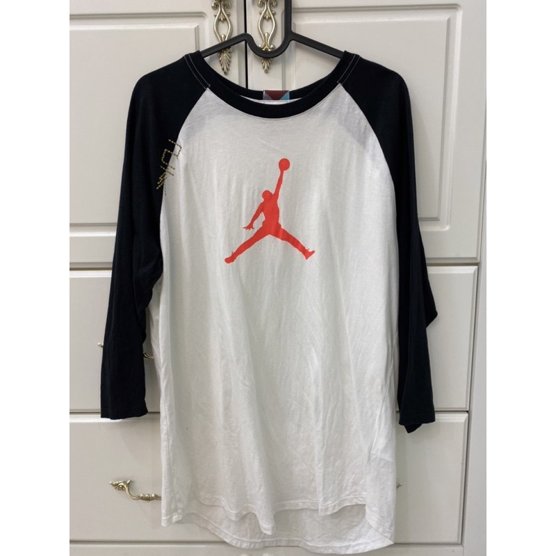 Nike Jordan七分袖棒球T