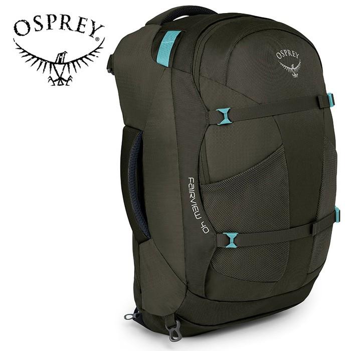【Osprey 美國】Fairview 40 自助旅行背包 多功能自助行背包 女款 朦朧灰 (Fairview40)