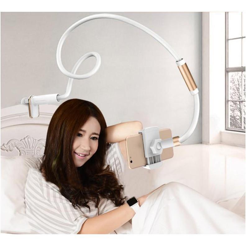 懶人支架床頭手機架直播支架桌面床上躺著看電視神器萬能通用夾子 ————花戀小店