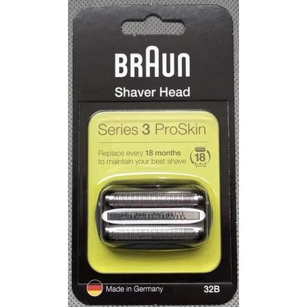 現貨 德國製正品 百靈 BRAUN 刀頭刀網組 32B 32S 3系列 Series3 S3 電動刮鬍刀網