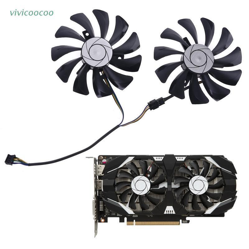 VIVI   1對85毫米HA9010H12F-Z 4Pin的冷卻器範置換MSI GTX 1060 OC 6G GTX