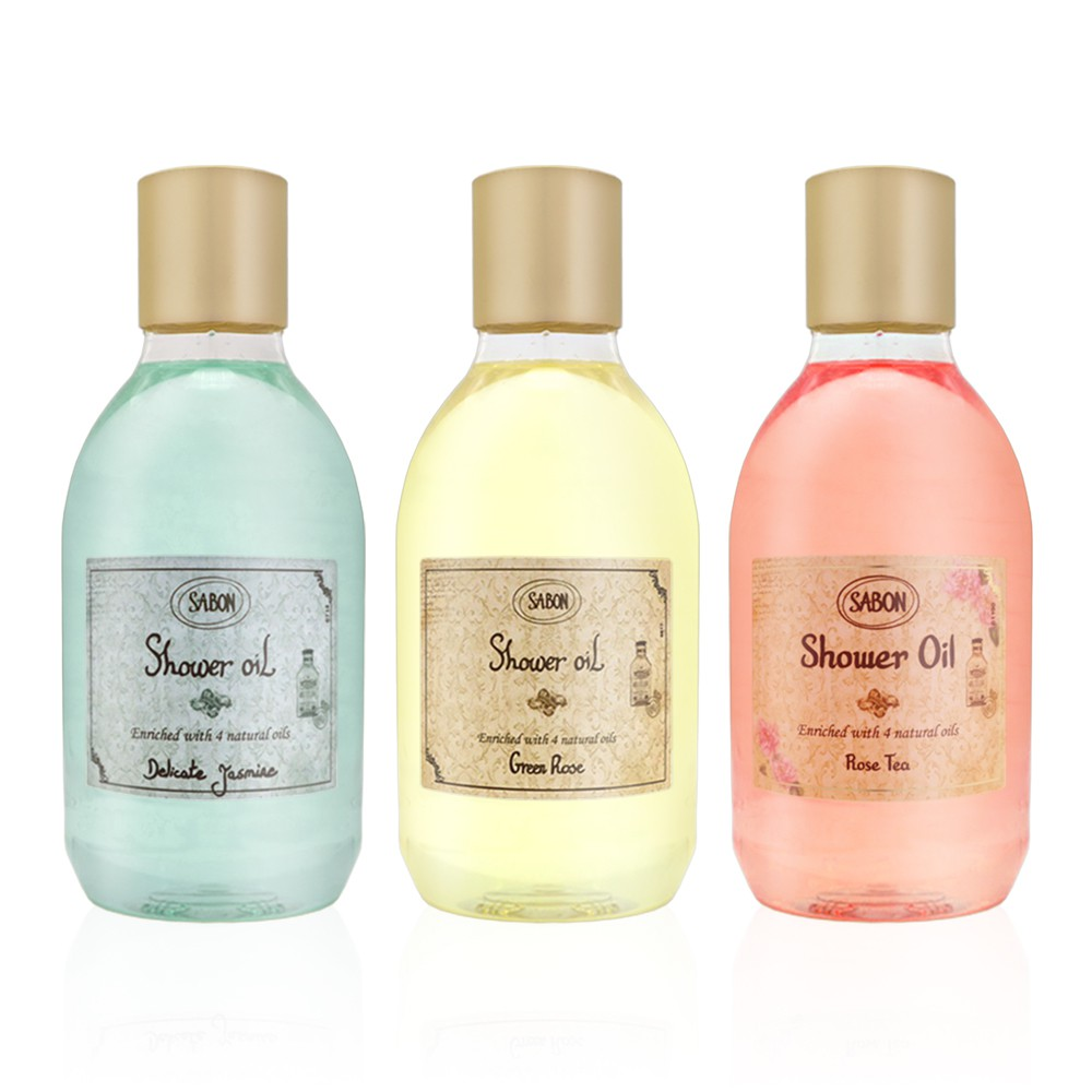 SABON 沐浴油 以色列綠玫瑰/玫瑰茶語/茉莉花語 300ml 平輸 3款可選 廠商直送 現貨