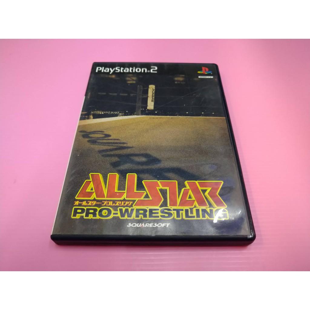 格 オ 出清價! 網路最便宜 PS2 2手原廠遊戲片 全明星職業摔角  All Star Pro Wrestling