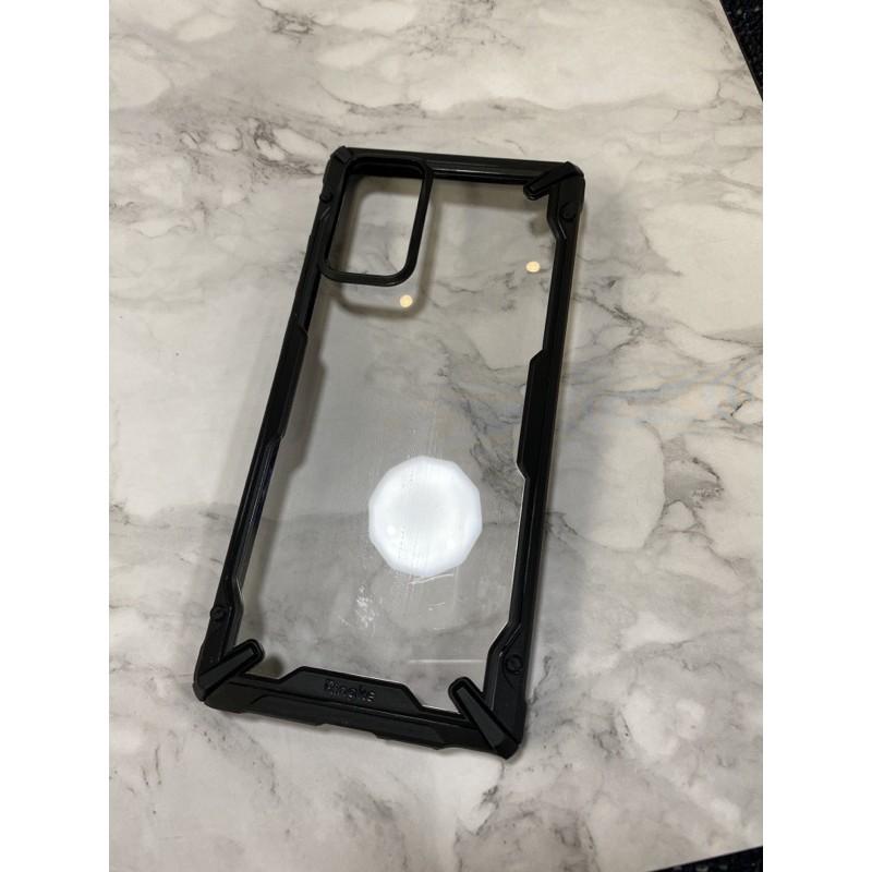 二手 韓國RingKe三星Note20手機殼5g保護套galaxy新款超薄Note20氣囊全包防摔潮牌創意矽膠透明