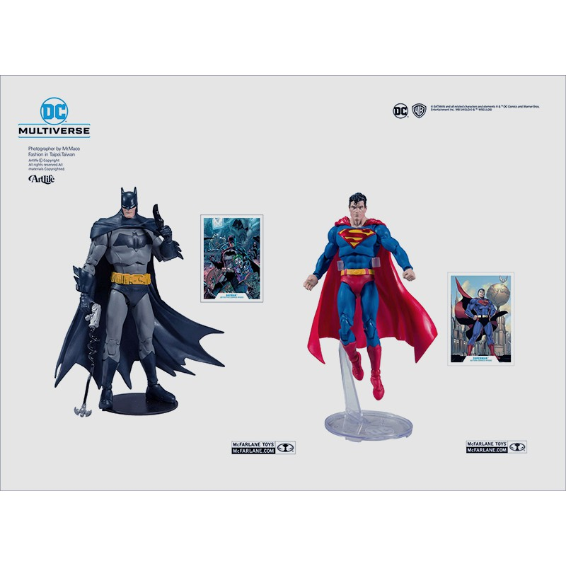 ArtLife @ McFarlane DC MULTIVERSE BATMAN SUPERMAN 麥法蘭 蝙蝠俠 超人