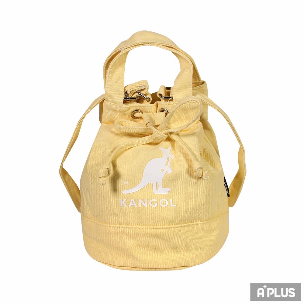 KANGOL 水桶包(鵝黃色) - 6925300761