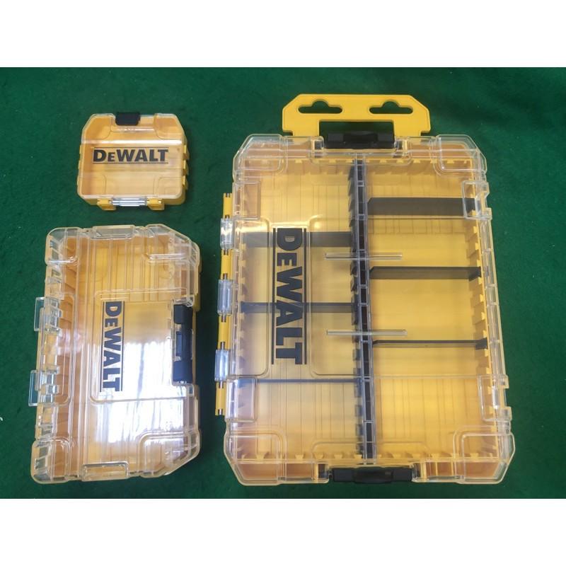 [一家五金行]含稅 DEWALT 得偉 堆疊工具收納盒 零件收納盒 零件盒 分格盒 收納盒