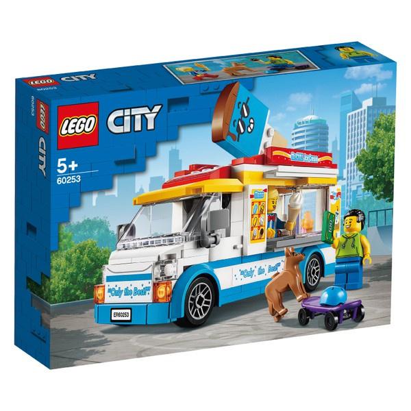 樂高LEGO City城市系列 冰淇淋車 60253