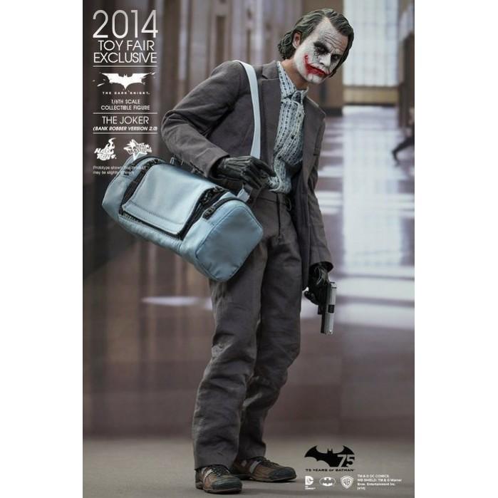 HOT TOYS MMS249 黑暗騎士 小丑 搶匪版2.0 2014限定版 最後一組