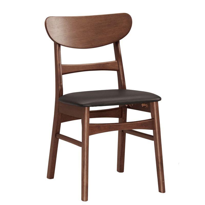 【MB1060-8】羅拉餐椅(皮)(實木)
