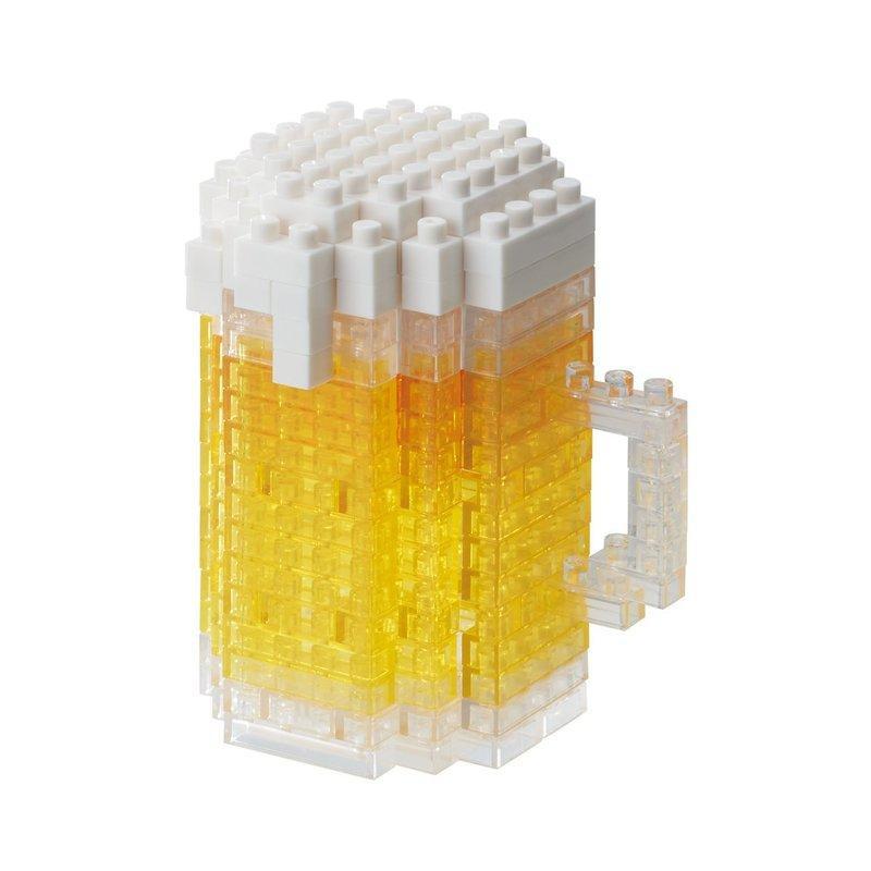 nanoblock NBC-245 啤酒 【哈玩具】