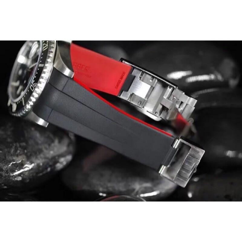 單紅126600 水鬼王專用橡膠錶帶組