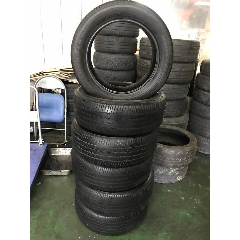 優質中古輪胎 215/55/17 普利司通 ep33 16年 8-9成新 無補胎