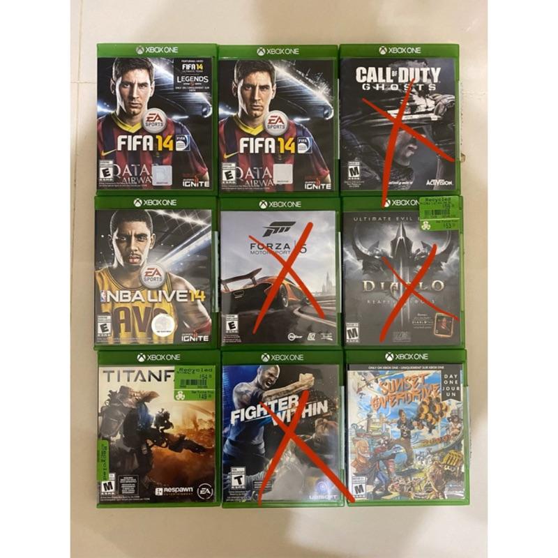 Xbox one 二手遊戲