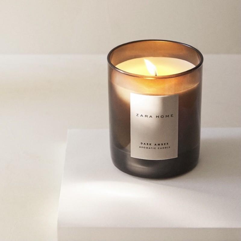 ZARA HOME DARK AMBER深琥珀系列 香氛蠟燭 擴香 車用香氛  乳液 香氛片