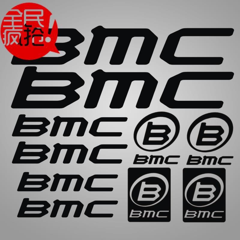 自行車貼紙 公路車山地車車架貼紙 BMC diy個性車架貼紙